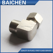 Aluminium stainless steel threaded pipe fittings