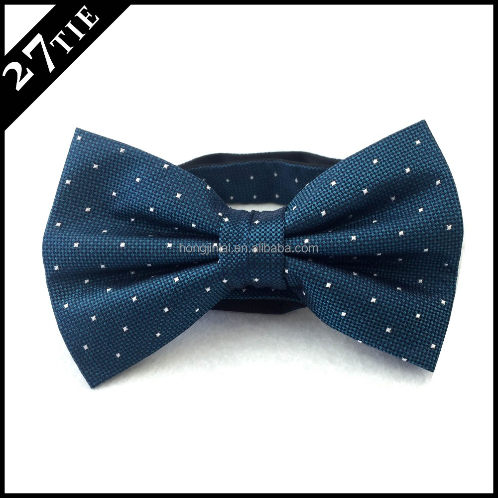 Best quality silk woven fashion custom bowtie