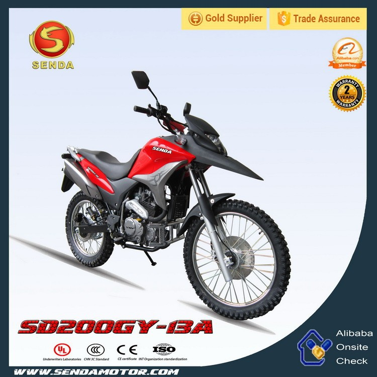 Off Road Dirt bike 200cc pit bike for Adult Motorcycle SD200GY-13A