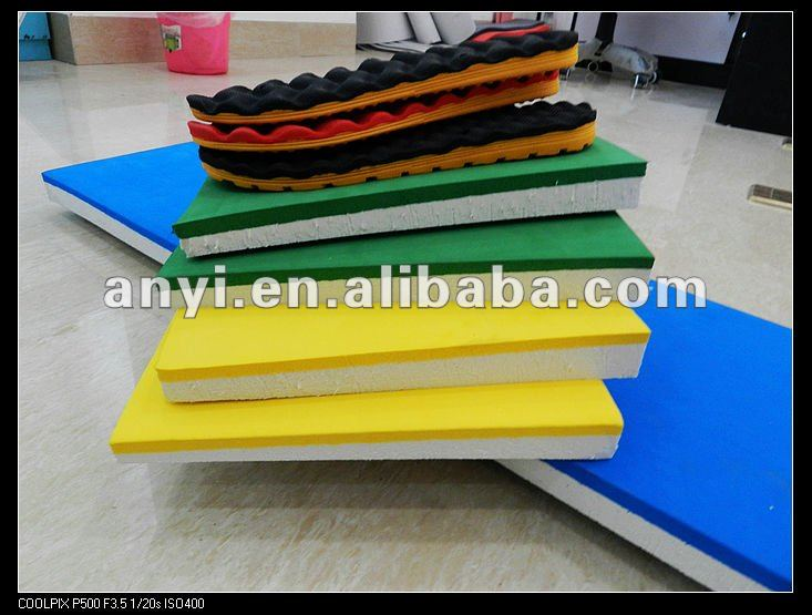 best-selling eva foam sheets to make slipper soles by hot and cold phylon machine