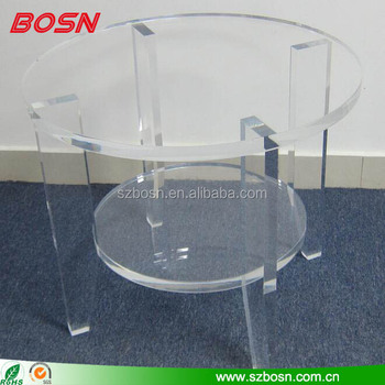 cheap Acrylic Furniture coffee afternoon tea table