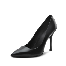 Women shoes 2015 fashion high heel elegant pointy toe pump shoe for lady