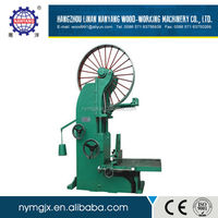 High efficient angle cut 45 degree band saw machine