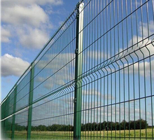 Hot Sale Curvel PVC Coated Galvanized 3D Curvel Welded Wire Mesh Fence