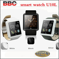 Smart Watch U10L Bluetooth WristWatch for Samsung S5 S4 Note 4 HTC Android Phone Smartphone 2015 New