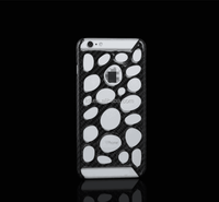 Newest Portable Luxury Cell Phone Case Hollow carbon fiber Hard Case for iPhone6 phone housing