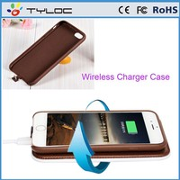Wholesale alibaba China new product qi universal wireless charging receiver case for iPhone 6