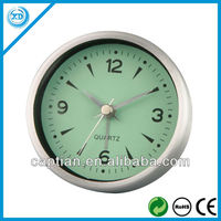 Metal analog quartz carpet alarm clock