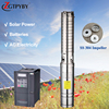 220v dc submersible deepwell solar water pump dc deep well for agriculture irrigation solar poweredwater pump