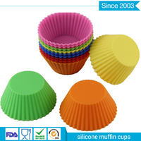 Anti-dust Silicone Cupcake Liners/Muffin Baking Cups