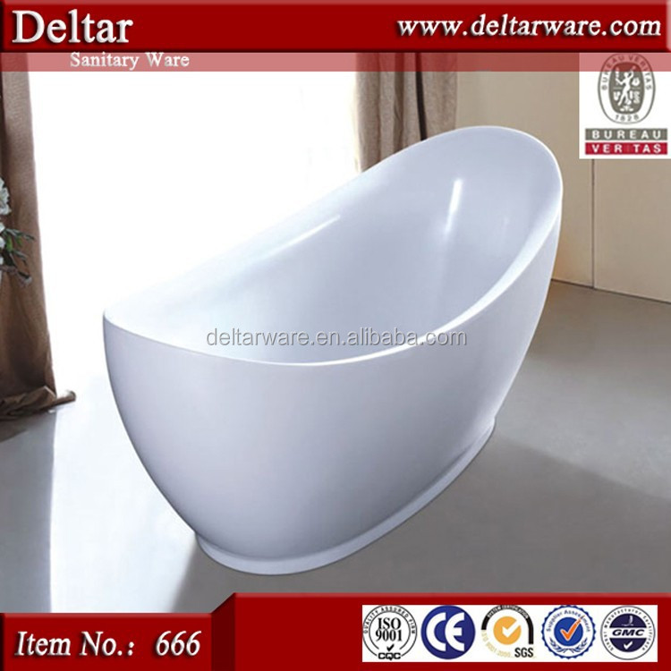 shoe model bathtub, tall bathtub for hotel lavatory, white/coffee color acrylic hot tub