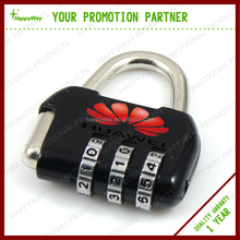 Popular Novelty Metal Combination Lock 0907008 MOQ 100PCS One Year Quality Warranty