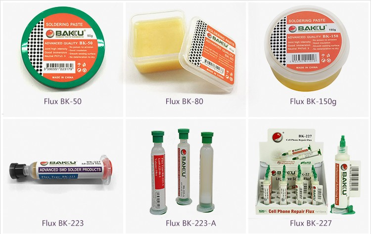 BAkU BK-223-A rosin-based liquid Tin solder welding flux Flux solder paste