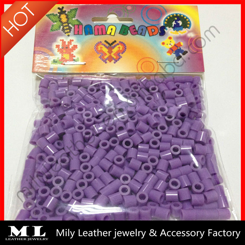 Eco-friendly Non-toxic hama perler beads Popular Creation Kids DIY Crafts Cheap Fashion Perler Beads MLHB 007