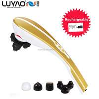Hot selling 2016 products electric home use rechargeable hammer massager LY-635A