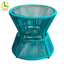 High Quality Fashionable And Durable Outdoor <strong>Furniture</strong> , Different Style Classic Fascinating Colorful Design Rattan End Table