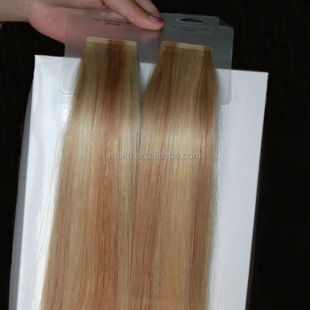 Highest quality brazilian human hair extension tape in