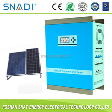 1KW pure sine wave off grid solar panel power system with battery