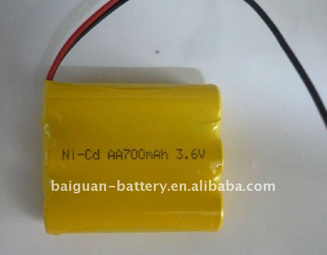 3.6V aa nicd batteries for cordless phones