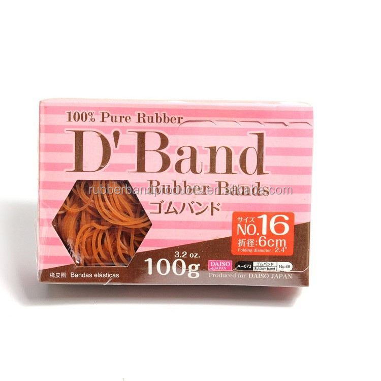 Thailand 100% Pure Rubber Band With Box Packing