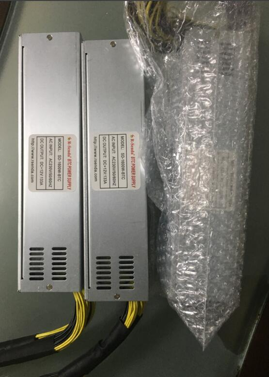 2017 NEW 1600W Platinum MINER SWITCHING POWER SUPPLY