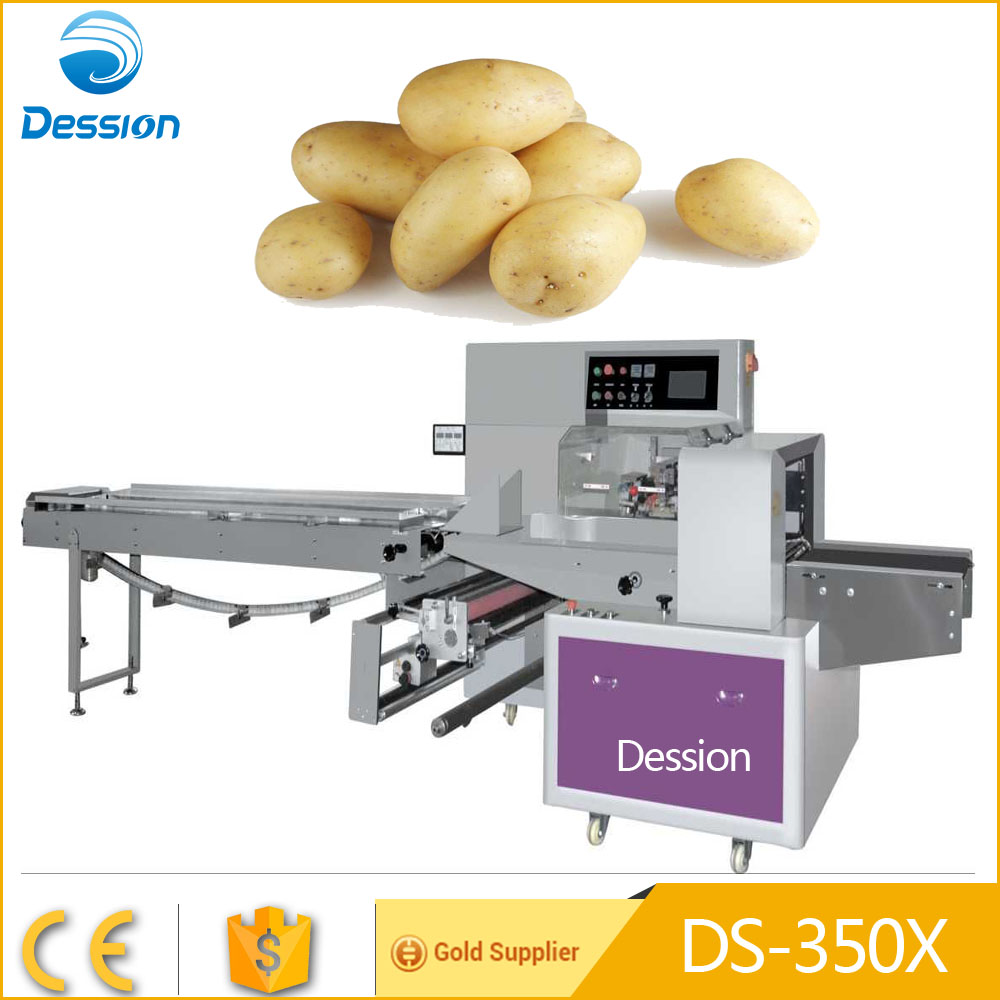 New condition automatic fresh potato packaging machine