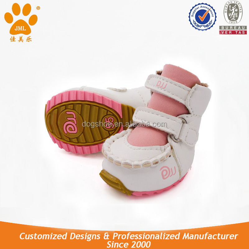 JML High Quality Fashion Dog Shoes with Rubber Sole Latest Design Dog Sports Shoes