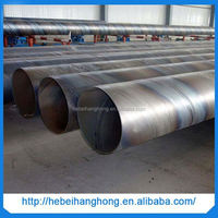 en10208 l245 ssaw spiral welded pipe
