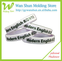 2013 Printed silicone hand bands