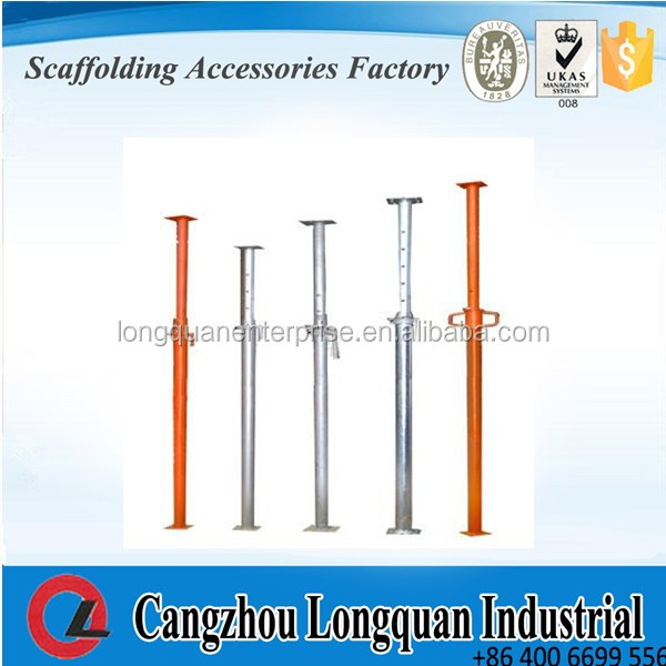 Light duty Painted scaffolding Adjustable props/Construction And Building