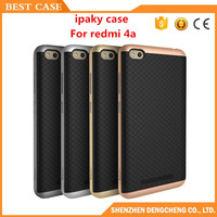 New model smart phone case tpu + pc Cover for redmi 4A Ipaky Case
