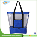 New Products Cheap Portable Beach Cooler Bags Large Clear Tote Bag