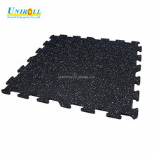 Interlocking Rubber Tile for Gym Aare Gym Mat Rubber Flooring