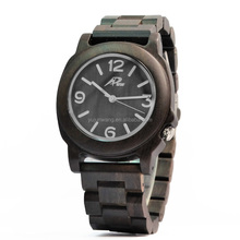 The newest design eco-friendly natural wood watches full wood dial custom brand for best gift
