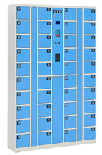 CE certified electric locker with small size boxes for phone storage wristband card