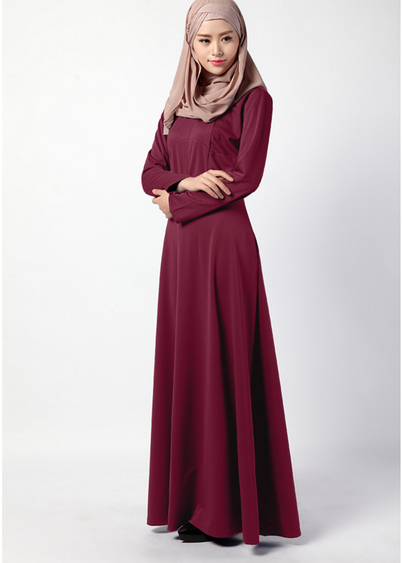 real sampal muslim evening dresses arabic evening dress long sleeve