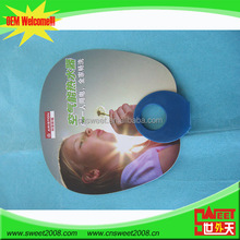 O type hand frame two side full color printing platic summer fan