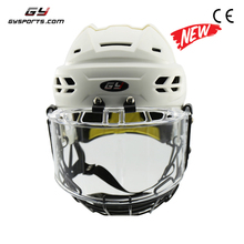 PP outshell and EPP+PU liner new design Ice Hockey Helmet with visor/cage