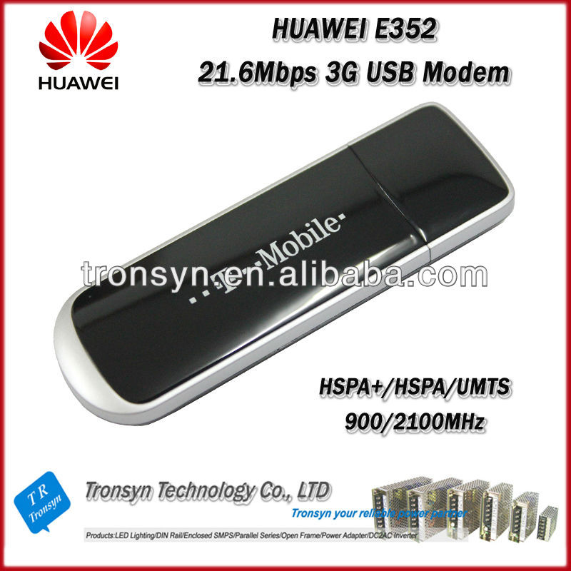 Original Unlock 21.6Mbps HUAWEI E352 HSPA 3G Modem And 3G USB Dongle