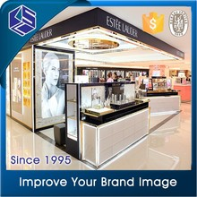 Showcase Floor Standing Great Varieties Clear Acrylic Cosmetic Display