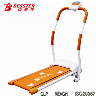 [NEW JS-085] Hot-selling deluxe motorized treadmill child walking machine home gym exercise indoor sport with motorcycle chain