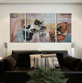 high quality abstract canvas painting design stretched