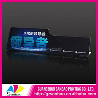 Chinese Factory Custom Top Sale Plastic Shelf Price Strip Supermarket Shelf