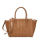MINANDIO Newest Models brand bags women handbags ladies pu leather hand purse lady weave tote bag wholesale