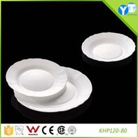 New Design High Quality Opal Glassware Plate