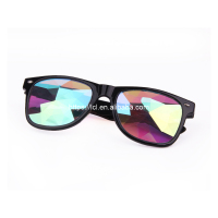 Funny sunglasses wholesale kaleidoscope funky party sun glasses