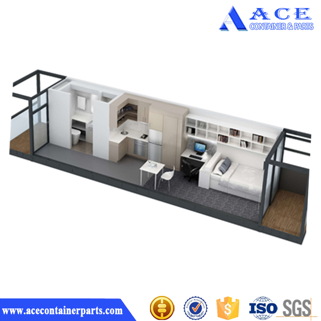 European Finished Container House Floor Plans