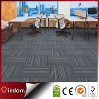 WD8800 hot sale multi-level loop PP carpet tile, grey office carpet
