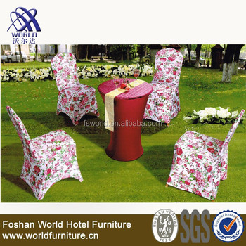spandex chair cover for outdoor chair