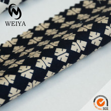 printed men's shirting fabric